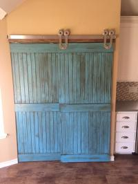 Sliding Barn Doors Add Personality to Our Clients New