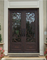 4 Benefits of Iron Front Entry Doors