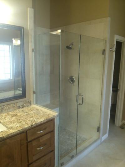 Frameless Glass Shower  Bathroom Renovation  Medford