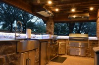 A Rustic Outdoor Kitchen Addition - Medford Remodeling
