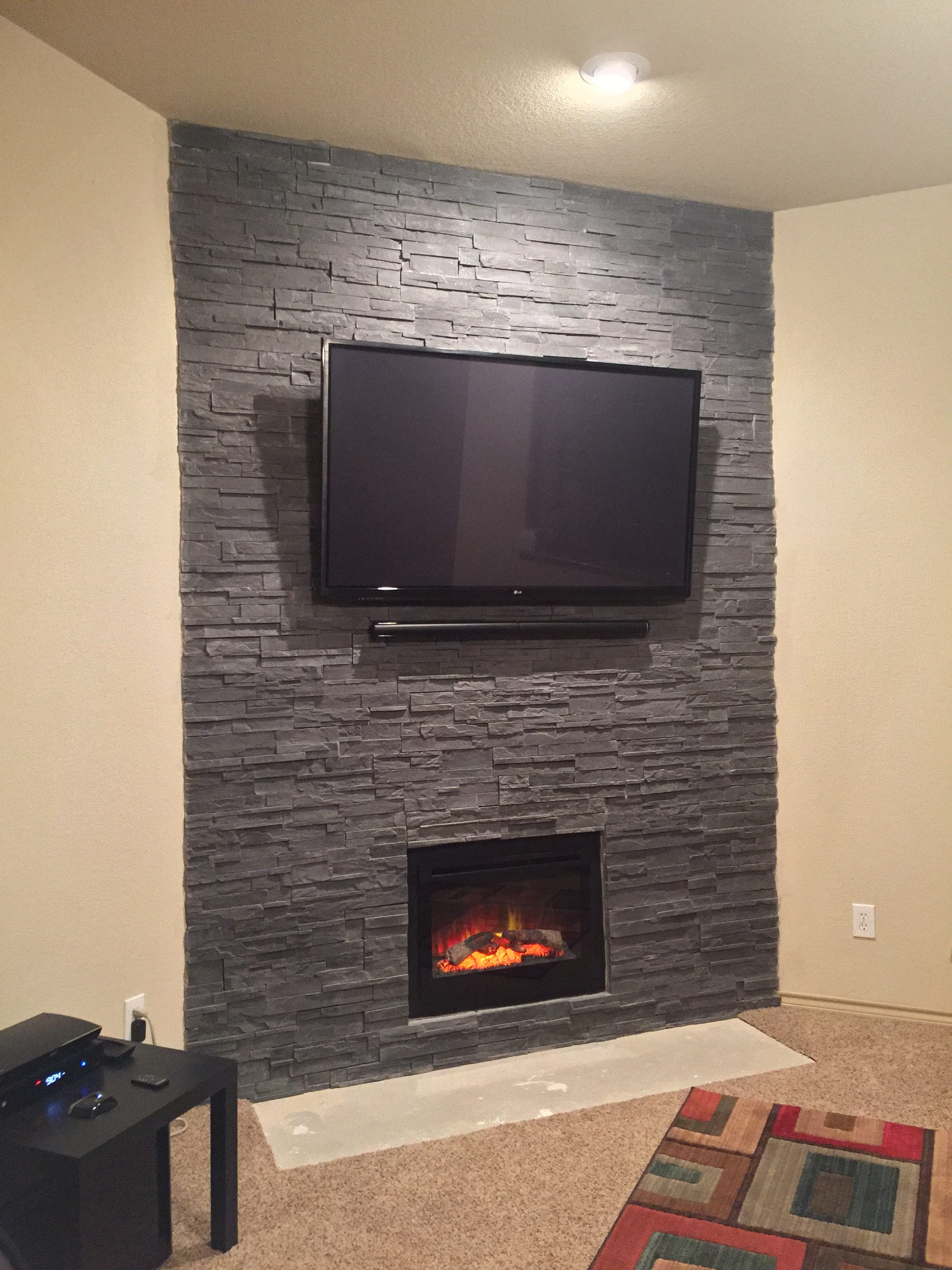 kitchens remodeling kitchen carts lowes a fireplace transformed with cultured stone: photos