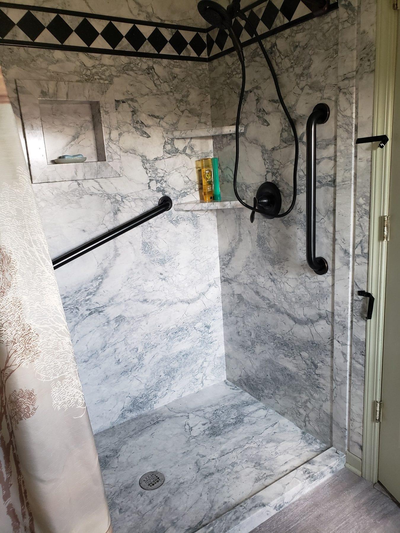 Flexstone Shower : flexstone, shower, Flexstone, Shower, Bathroom, Remodeling, Remodeltoledo.com