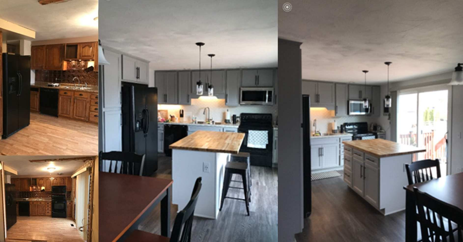 kitchen remodel before and after a home improvements toledo s