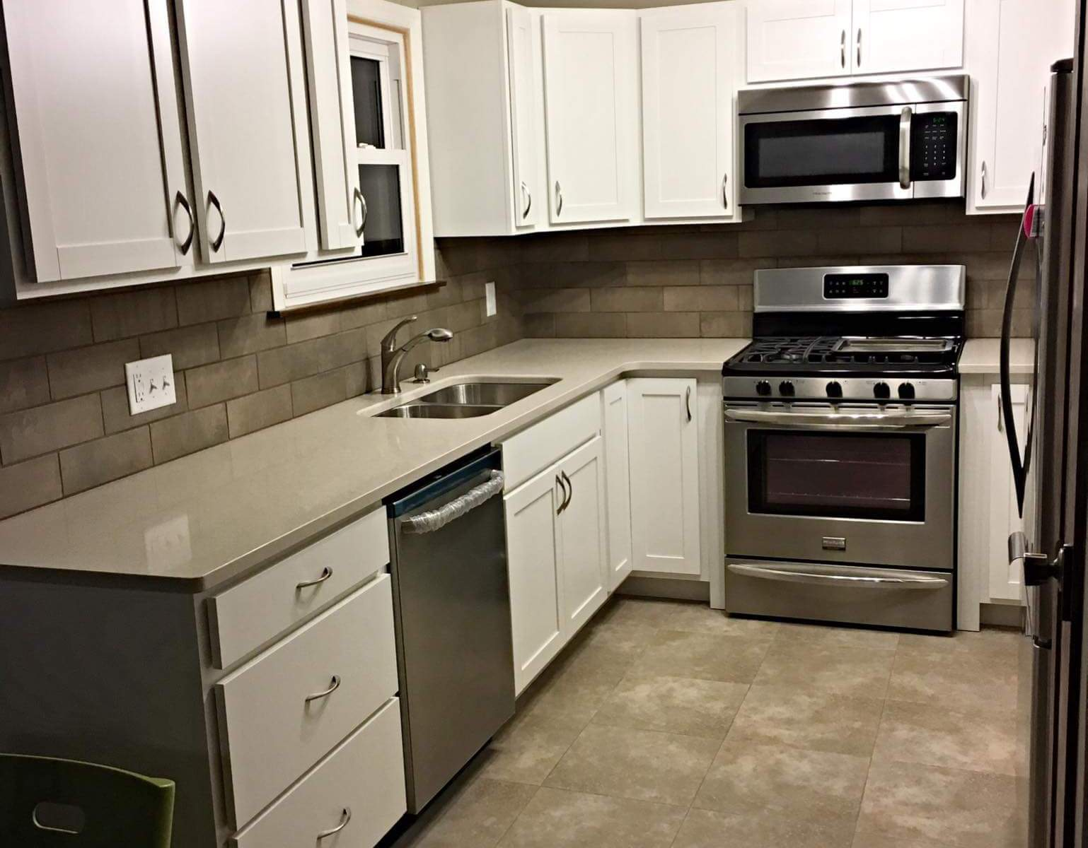 before and after kitchen project a home improvements toledo s