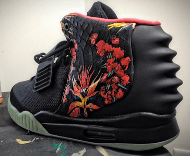 nike air yeezy 2 givenchy custom copy Foto   Tenis feos de Nike