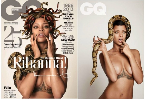 photo Rihanna portada 25 aniversario GQ