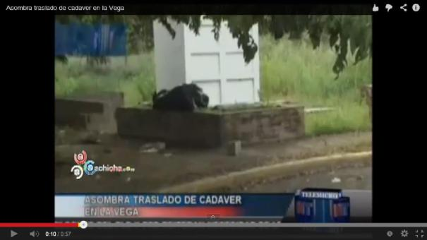 """22 Video Autoridades """"dejan"""" tirado cadáver en un cementerio [RD]"""
