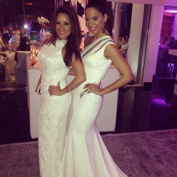 Carolina Sandoval (Inzquierda), y Mariela Encarnacion. Foto via http://instagram.com/venenosandoval