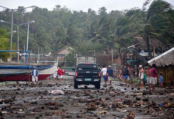 p9ud Filipinas analizan daños tras tifón