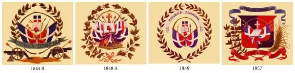 escudo La evolución del escudo dominicano