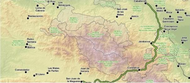 51 Recomiendan no construir carretera atravesaría la Cordillera Central [RD]