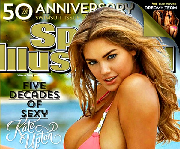 1392738646 sports illustrated article Kate Upton cubre la parte trasera de Sports Illustrated 2014