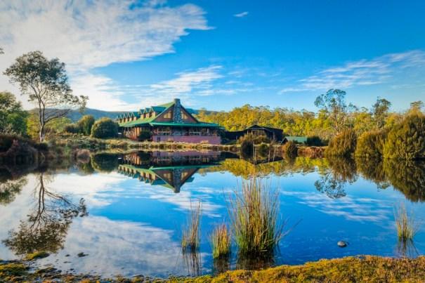 Peppers Cradle mountain lodge, Tasmania, Australia