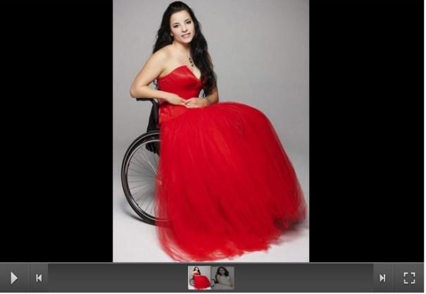 53 Húngara gana Miss Universo en silla de ruedas