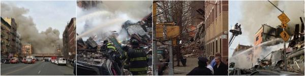 edificio Mas fotos y videos de la explosion en Manhattan