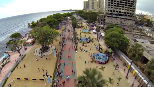 malecon sd Imagenes aéreas del Malecón