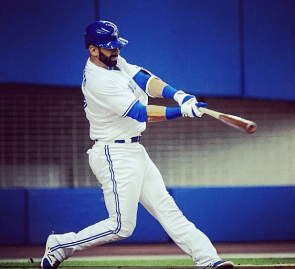 Jose Bautista, foto via @MLB