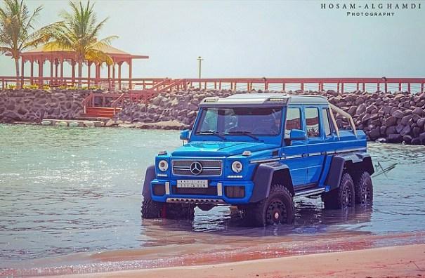 2014 mercedes benz g class g63 amg 100468177 m Mercedes Benz G63 AMG 6x6 Sea Monster [fotos]