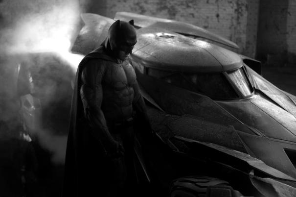 Ben Affleck como Batman. Foto viaTwitter.com/ZackSnyder