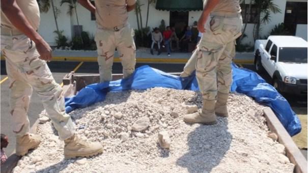 """La """"merca"""" estaba cubierta con arena / ElDia"""