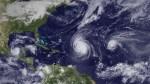 huracanes igor julia karl 20100916 Huracán Cristina, con anemia