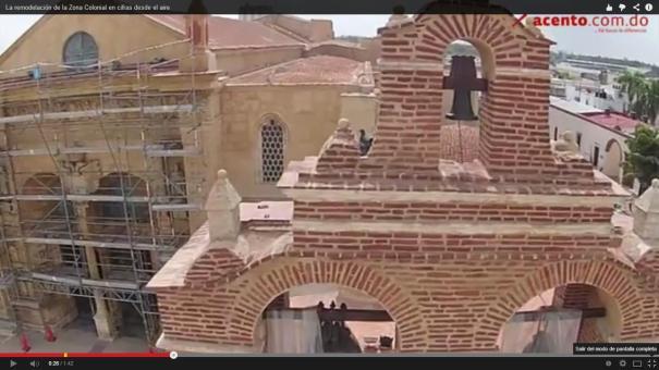 11 Vistas aéreas de remodelación de la Zona Colonial