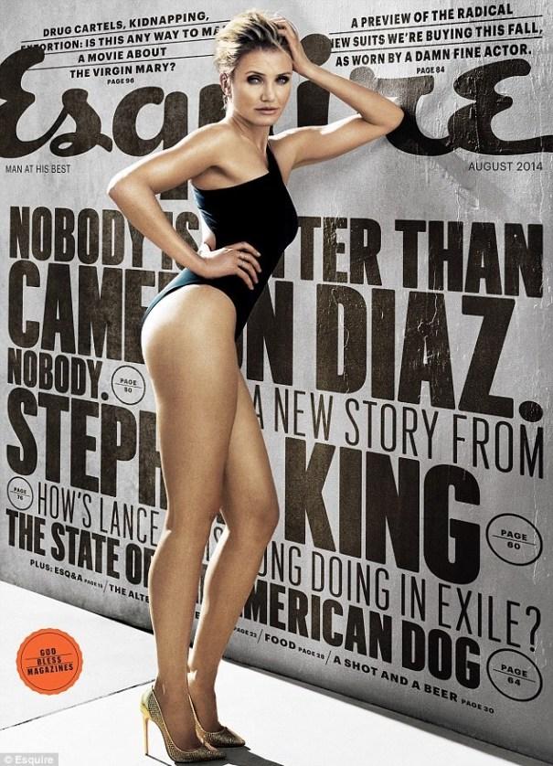 image1 Cameron Diaz Fui Fuiu en portada de revista Esquire