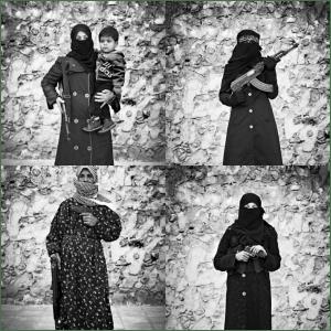 mujeres de la guerra