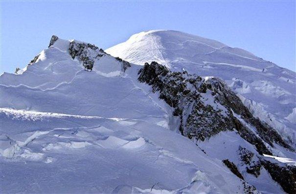 (Créditos de foto: Mont Blanc / PATRICK GARDIN, FILE — AP0