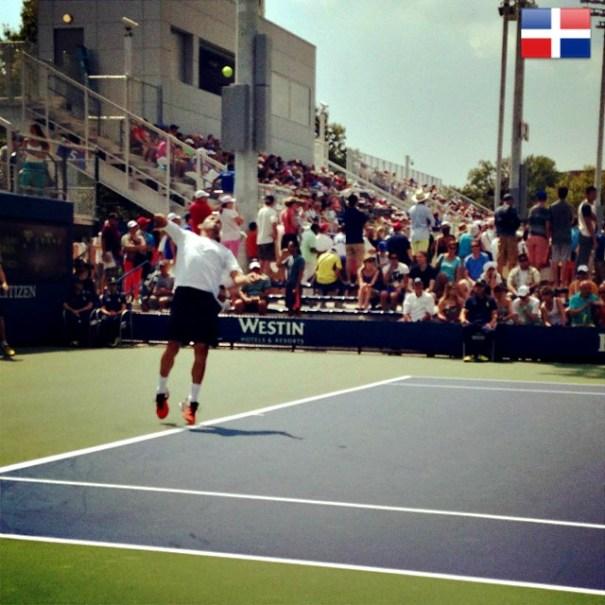 platano El Dominicano Victor Estrella pasa a segunda ronda del US Open