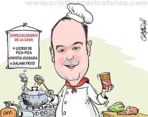 15185229262 8815e609f3 o Chef Pica Pica [caricatura]
