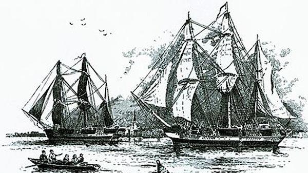 barco Descubren restos barco desapareció en 1845