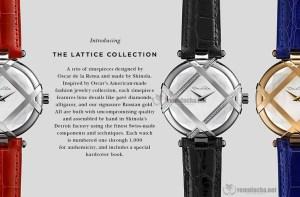 Relojes caros de Oscar de la Renta