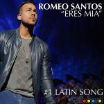 """""""Eres Mía"""" de Romeo Santos #1 en Billboard"""