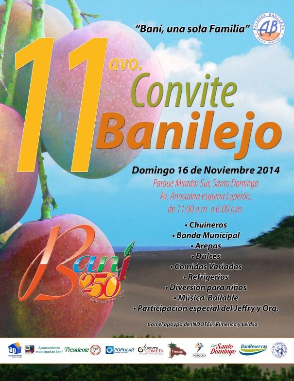 11vo convite banilejo Evento   Celebración Undécimo Convite Banilejo [RD]