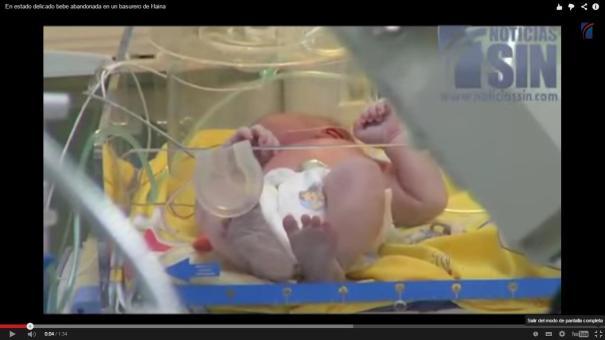 12 Tipa abandona su hija recién nacida en basurero [RD]
