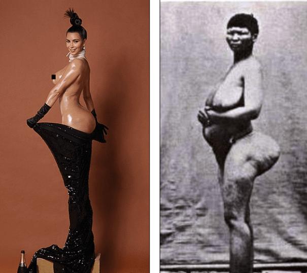 19 Foto   La Nalgashian del siglo 19