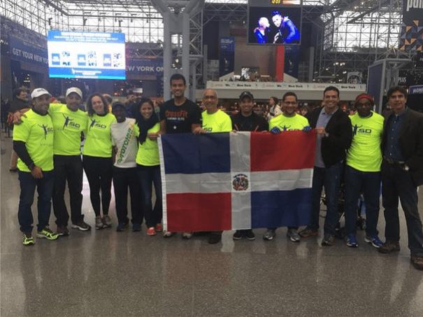 delegacion dominicana Le deseamos éxito a los Dominicanos en el maratón de Nueva York 2014!