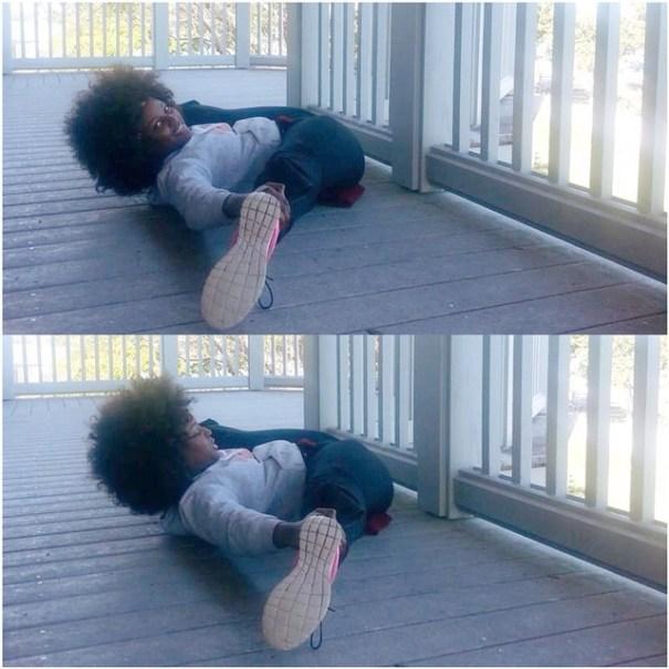 10848459 823465894378118 626111095 n Foto   Amara La Negra muestra su super flexibilidad en las redes sociales
