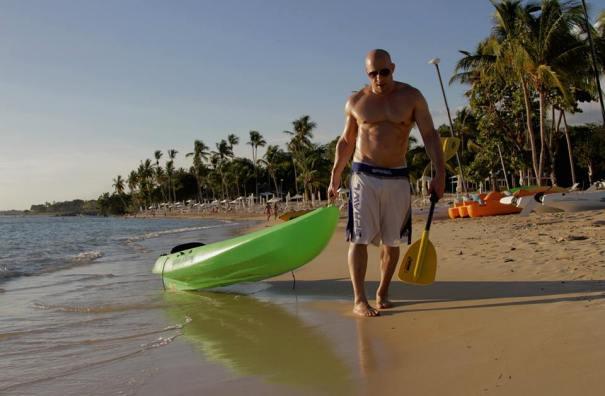 vin Fotos   Vin Diesel pasa la Navidad en República Dominicana