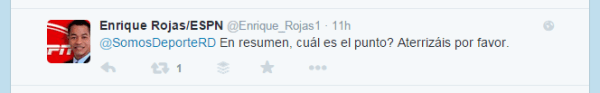espn Tweet de CUENTA FALSA del  Ministerio de Deportes de la RD causa polémica