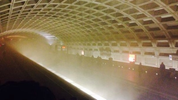 img 4653 EEUU: Un muerto tras llenarse de humo túnel del metro de Washington