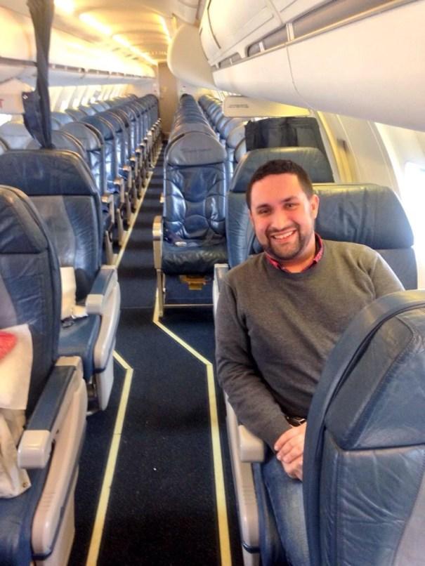 img 4663 Foto   Vuelo de Delta con solo dos pasajeros