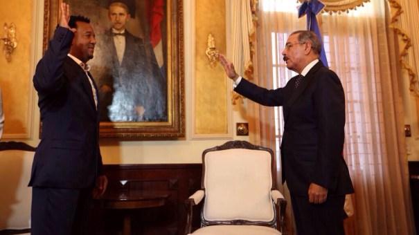 img 4734 0 Fotos   Pedro Martínez visita al presidente Medina