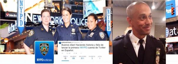 img 4902 Policia de NY abre cuenta de Twitter en español