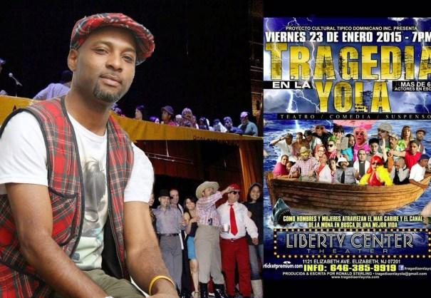 img 4959 Obra Tragedia en la Yola será presentada en New Jersey