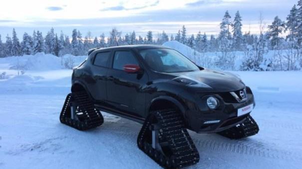 juke nismo rs snow 002 1 Fotos   Carro super modificado para la nieve