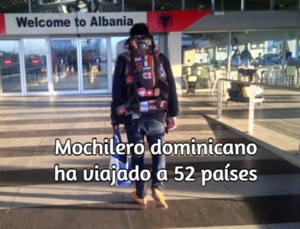 53 Mochilero dominicano ha viajado a 52 países. Explica cómo viajar por menos