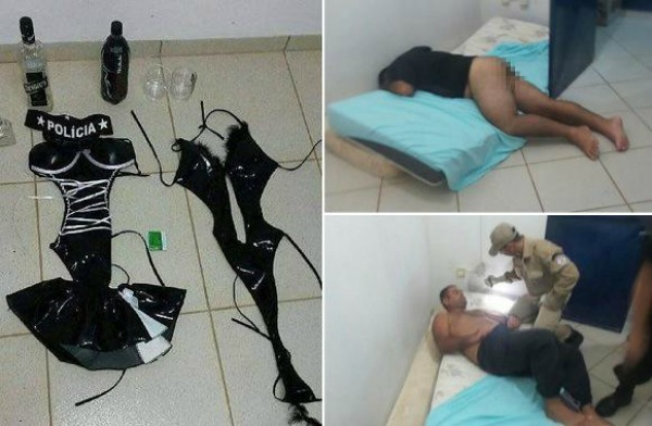 domi Fotos   Jevas vestidas de dominatrix ayudan a presos a fugarse de la cárcel