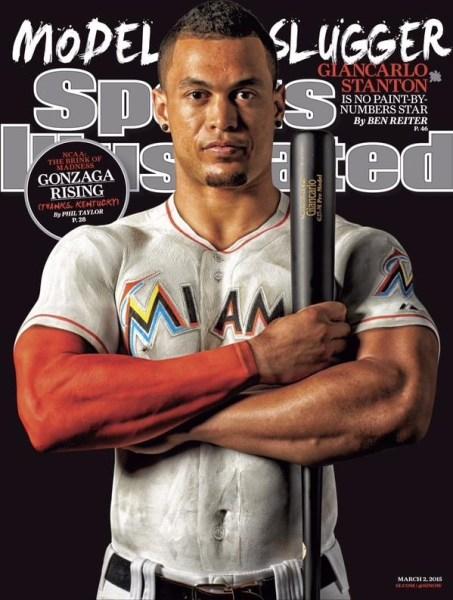 image87 Giancarlo Stanton en portada de Sports Ilustrated
